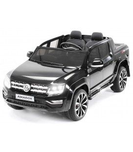 Pick-Up VolksWagen noir pour enfant - 12V