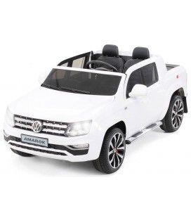 Pick-Up VolksWagen blanc pour enfant - 12V