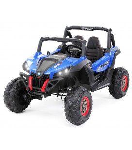Buggy électrique bleu pour enfant - 6 km h