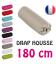 Drap housse lit simple 180x200 cm 100% coton - 11 coloris