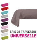 Drap housse lit simple 180x200 cm 100% coton - 11 coloris