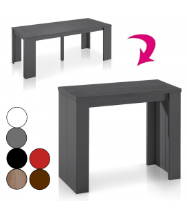 Table console extensible Brooklina - 8 coloris mat -