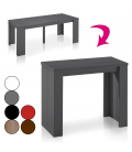Table console extensible Brooklina - 8 coloris mat -