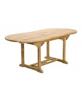 Table ovale extensible 150/200*90 gamme FUN