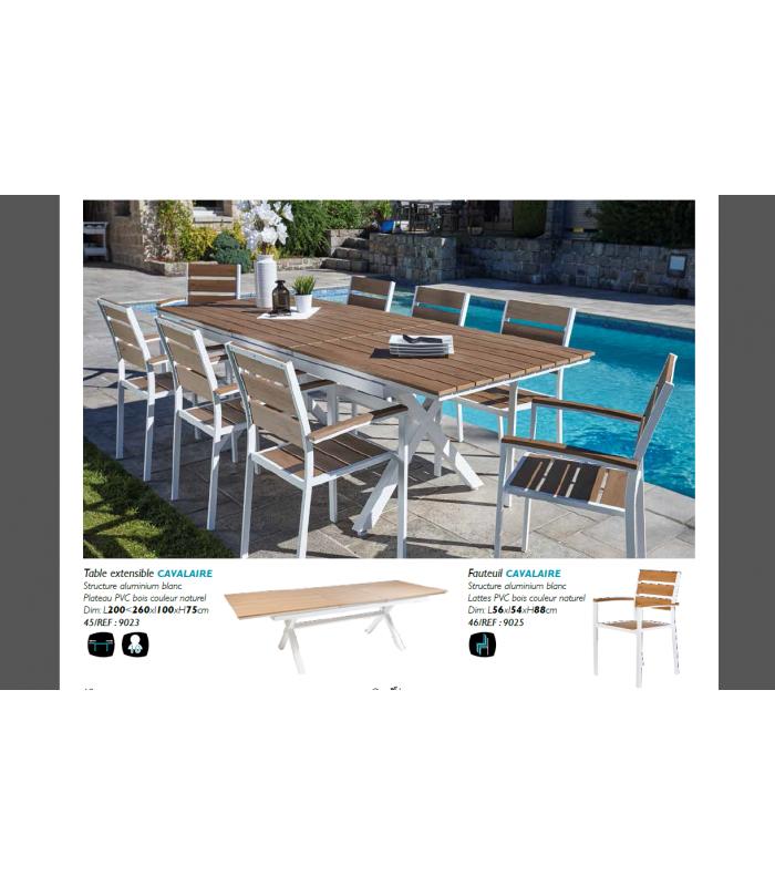 Extensible Empilables Chaises Manisa Table D'extérieur8 kXiOZuTP