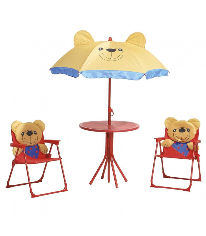 Table 2 EnfantParasol Ourson Chaises Playa Et w0Pnk8O
