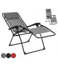 Transat fauteuil moderne et pratique 3 coloris
