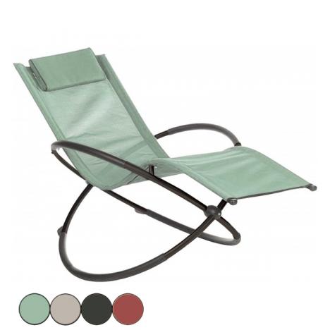 transat pied rotatif original 4 coloris structure métal