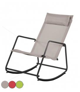 Petit fauteuil transat réglable 3 coloris