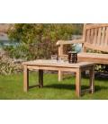 Table basse 90 x 45 bois massif extérieur moderne