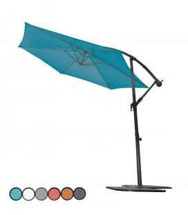 Parasol King Size pivotant avec manivelle CADIX