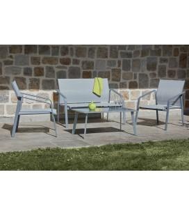 Ensemble extérieur table basse / fauteuils / canapé ALICIA