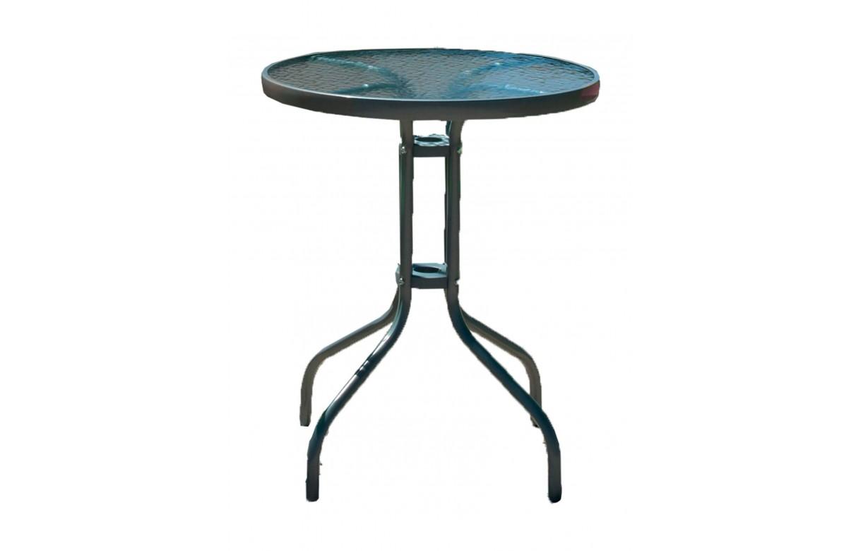 Table et chaises de jardin 2 personnes rose Lisboa