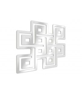 Miroir bouddhisme noeud éternel - 3 dimensions