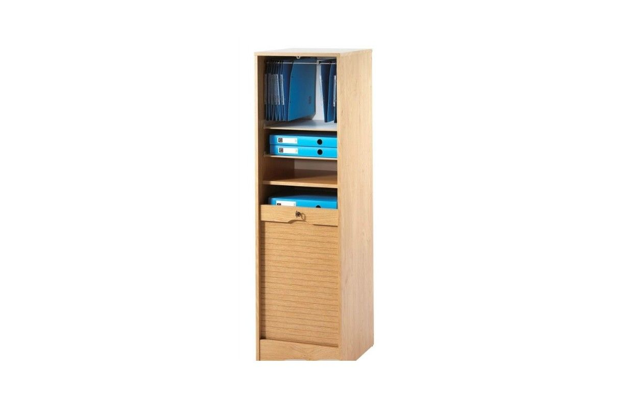 meuble classeur de bureau rideau 140 cm 6 coloris. Black Bedroom Furniture Sets. Home Design Ideas