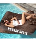 Housse de pouf fauteuil de piscine SitInPool à microbilles -
