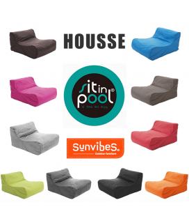 Housse de remplacement de pouf fauteuil de piscine SitInPool -