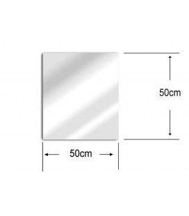 Miroir déco de jardin 50x50 cm acrylique