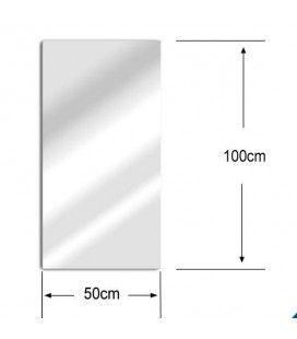 Miroir déco extérieure 100x50 cm acrylique