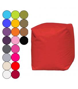 Pouf cube carré extérieur 15 coloris GOON