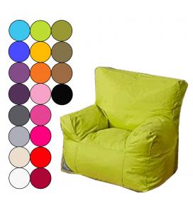 Pouf fauteuil enfant 6 coloris KIDOON