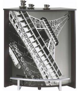 Comptoir blanc noir ou bois clair Paris Tour Eiffel