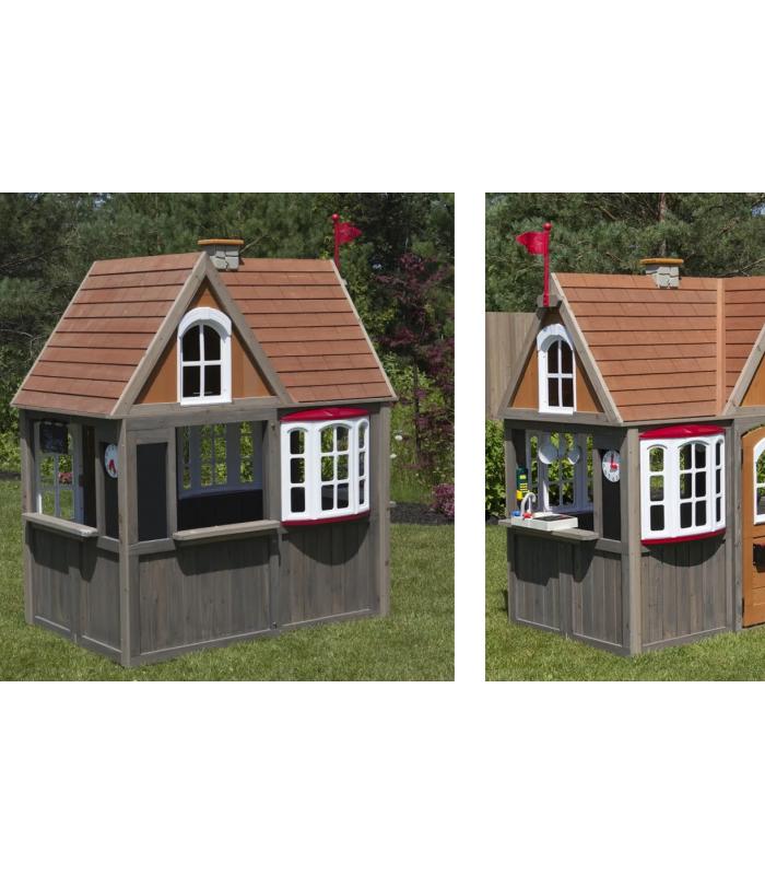 Grande Cabane De Jardin Pour Enfant En Bois Depliable