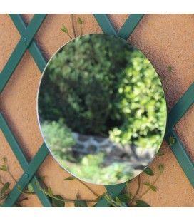 Miroir de jardin rond extérieur 40cm