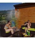 Douche de jardin 2 en 1 avec pommeau et brumisateur Ofresh -