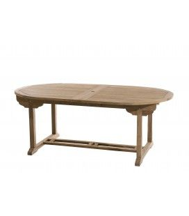 Table ovale double extension 200/300*120 gamme FUN
