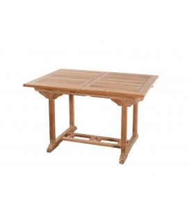 Table rectangulaire 120/180 x 90 cm gamme FUN