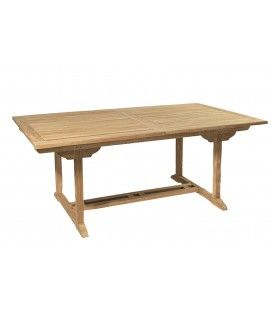 Table rectangulaire extensible 180/240*100 gamme FUN