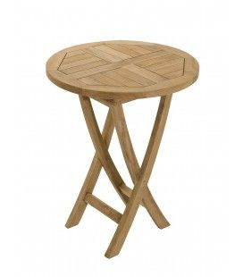 Table ronde pliante 60 x 60 gamme FUN