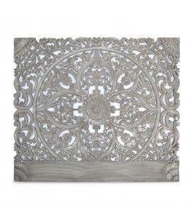 Tête de lit en bois gris 160 cm CONCORDIA