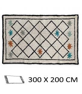 Tapis style berbère Tamtam 300 x 200 cm