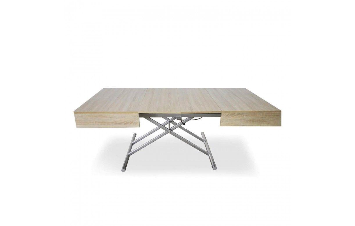 Table extensible basse 8 relevable 190cm personnes MpGLVSjzqU