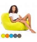 Pouf géant coussin de sol Jumbo Bag 5 coloris CHILLY BEAN -