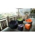 Pouf géant bicolore Jumbo Bag Bowly - 3 coloris -