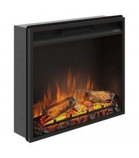 Foyer cheminée électrique insert encastrable 60x50cm TAGU