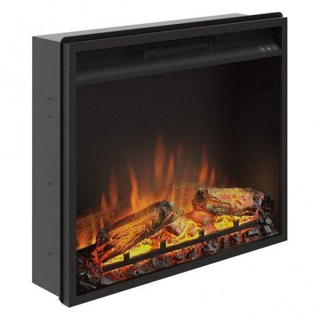Foyer cheminée électrique insert encastrable 60x50cm TAGU -