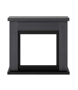 Cadre de cheminée en bois gris pour TAGU -
