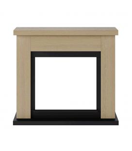 Cadre de cheminée bois style chêne marque TAGU
