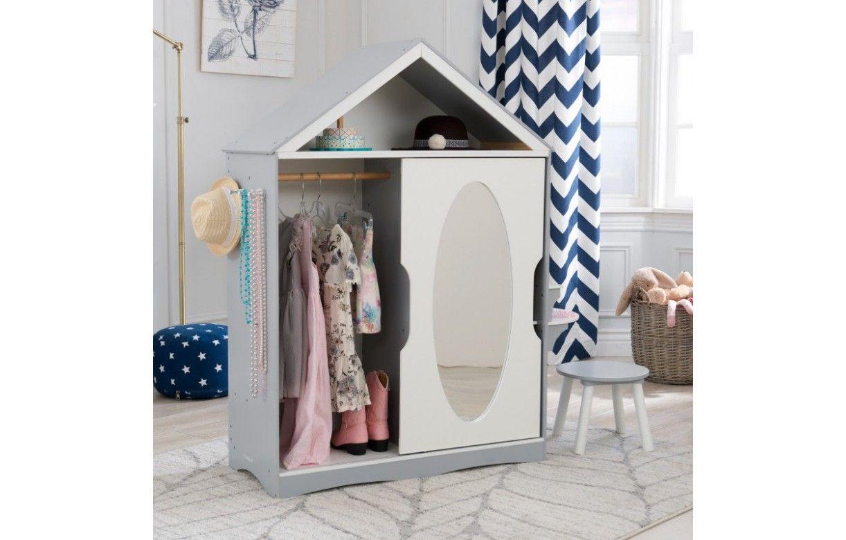 Dressing Avec Coiffeuse Intégrée armoire enfant miroir coulissant et coiffeuse intégrée