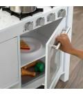 Cuisine enfant gain de place blanche -