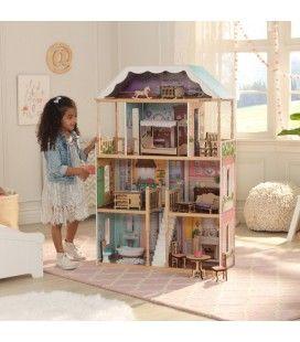Maison de poupée géante enfant montage facile Charlotte -