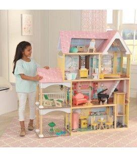Maison de poupée Lola géante enfant montage facile -
