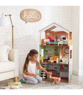Maison de poupée Luxe 3 étages Kidkraft -