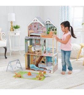 Maison de poupée géante 110cm avec lumière et son -