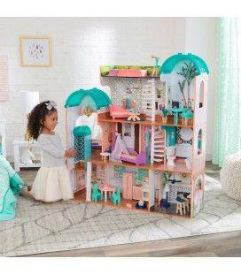 Maison géante manoir pour poupées de 30cm Camila Kidkraft -