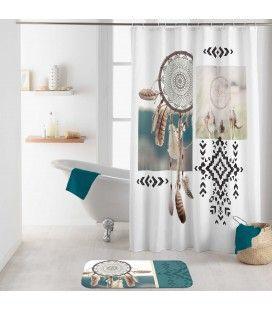 Rideau douche Crochets 180 x 200 cm Ottawa attrape-rêves -